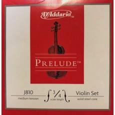 D'Addario Prelude J810 set 3/4