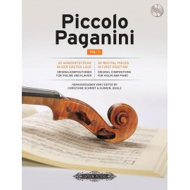 Piccolo Paganini Vol. 1 per Violino e Piano