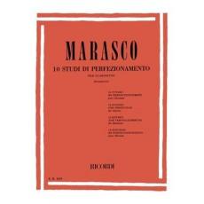 Marasco 10 Studi di perfezionamento per Clarinetto