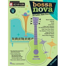Hal Leonard Bossa Nova - 10 Latin Jazz Favorites CD