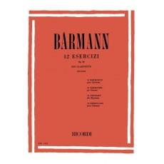 Barmann 12 Esercizi Op 30