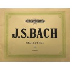 Bach J.S. Orgelwerke 3