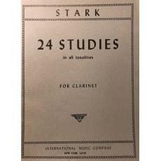 Stark 24 Studi in tutte le tonalità op 49