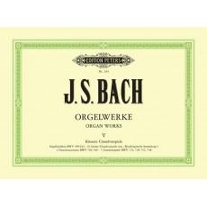Bach J.S. Orgelwerke 5