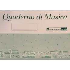 Quaderno di Musica 6 pentagrammi