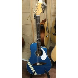 Fender FSR MALIBU MUSTANG LPB W RAC STRIP