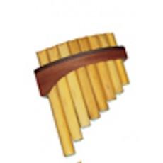 Schwarz 0/055b Flauto di Pan 8 Toni (Do-Do)