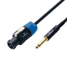 SOUNDSATION WM-PCSJ5 Cavo speaker  Speakon-6.3mm Jack MONO / 1x2.5 mm² / 5mt