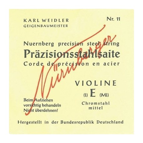 NÜRNBERGER Set Violino 3/4 PRÄZISION VOLLKERN