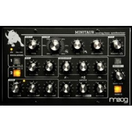 Moog MiniTaur Rev. 2.0 bass synth analogico