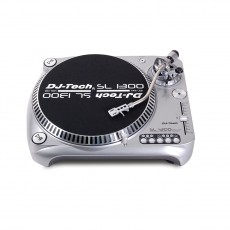 DJ TECH Giradischi SL1300 MK6 USB Silver