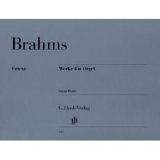 BRAHMS Werke für Orgel