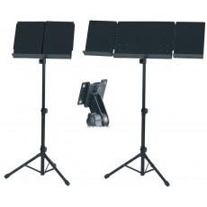 Gewa Leggio da orchestra tavola in metallo