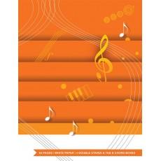 Quaderno di musica chitarra - rigo + tab
