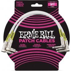 Ernie Ball 6055 Cavo Patch - 30 cm 3 pezzi