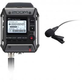 Zoom F1-LP – field recorder + Microfono lavalier