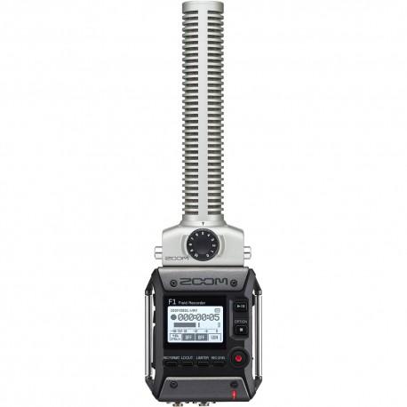 Zoom F1-SP – field recorder + Microfono shotgun