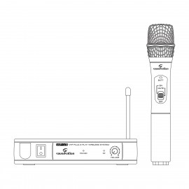 SOUNDSATION WM-V11HA Radiomicrofono VHF  Palmare (213.0 MHz)