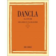 Dancla 36 Studi melodici e facilissimi Op. 84