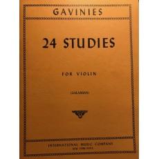 Gavinies 24 Studi per violino