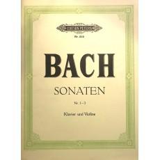 Bach Sonate 1-3 Violino e Pianoforte