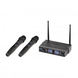 SOUNDSATION WF-D290HH Radiomicrofono UHF Digitale Doppio